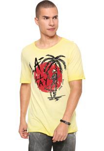Camiseta John John Day Yellow Amarela
