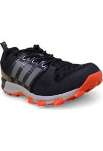 Tenis Masc Adidas Bb3482 Galaxy Trail Preto/Laranja