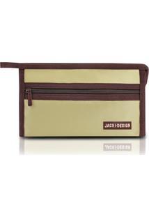 Necessaire Envelope Jacki Design Microfibra - Unissex