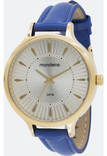 Kit Relógio Feminino Mondaine 53602Lpmvdh1K Analógico + Conjunto Semijóia