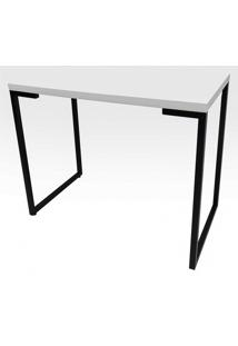 Mesa Para Computador Escrivaninha Porto 120Cm Branco - Fit Mobel