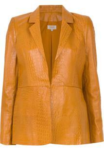 A.Brand Blazer Texturizado 'Classic' - Amarelo