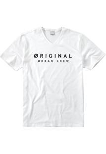 Camiseta Tradicional Decote V Malwee