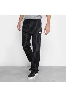 Calça De Moletom Calvin Klein Listras Masculino - Masculino