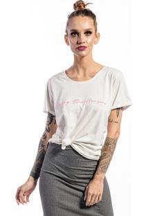 Camiseta Manga Curta Branco Sailing - Kanui