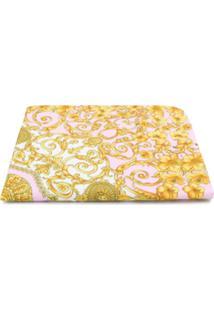 Young Versace Cobertor Barroco - Rosa