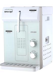 Purificador De Água Elétrico New Up Infynit Glass Branco