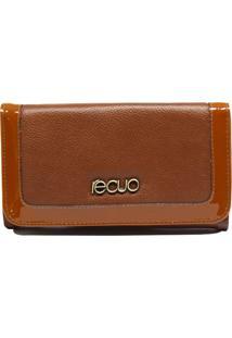 Carteira Recuo Fashion Bag Caramelo - Kanui