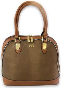 ... Bolsa Casual Sys Fashion 8521 Feminina - Feminino-Marrom 1962d50d64