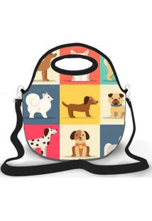 Bolsa Térmica Shop House Dog And Cat Amarelo