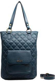 Bolsa De Couro Recuo Fashion Bag Totem Verde Oceano