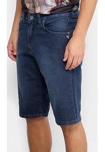 Bermuda Jeans Okdok Regular Fit Masculina - Masculino
