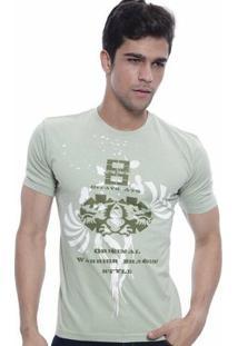 Camiseta Oitavo Ato Eight Masculina - Masculino-Verde