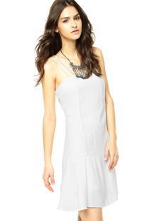 Vestido Cavalera Alças Off-White