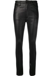 Saint Laurent Calça Jeans Skinny - Preto
