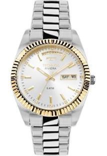 Relógio Feminino Technos Elegance Riviera 8205Ob/1 - Unissex-Prata