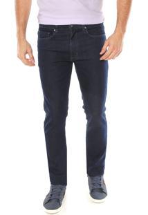 Calça Jeans Aleatory Slim Básica Azul