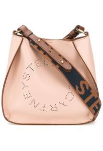 Stella Mccartney Mini Stella Logo Crossbody Bag - Rosa