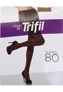 Meia Calça Trifil Opaca Fio 80 Feminina - Feminino