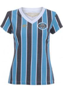 Baby Look Umbro Grêmio Retro Feminina
