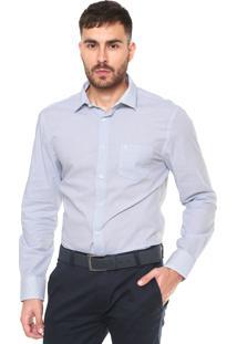 Camisa Vr Urban Fit Xadrez Azul