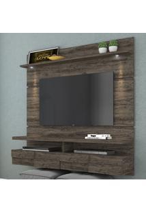 Painel Para Tv 2 Portas Lana 160 Cm 275025 Vulcano - Madetec