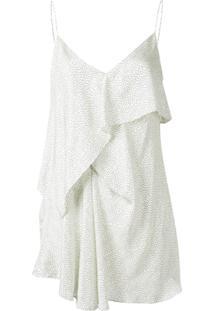 Acler Blusa De Alcinha Longa 'Caulfield' - Branco