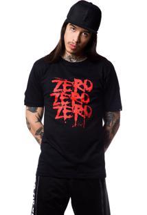 Camiseta Zero Triple Z Multicolorido