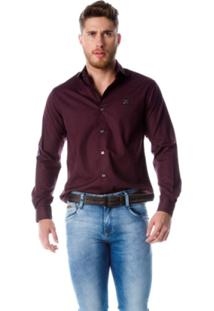 Camisa Dpto By Departamento Comfort Roxo