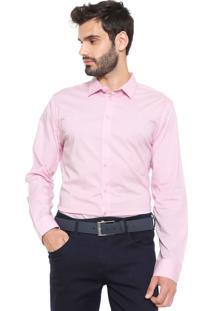 Camisa Forum Reta Square Rosa