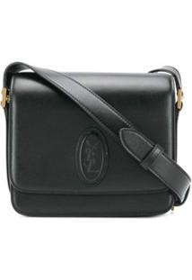 Saint Laurent Bolsa Tiracolo Saddle - Preto