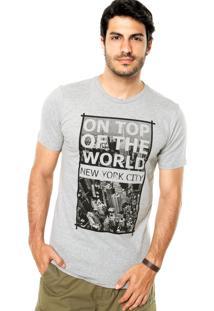 Camiseta Lemon Grove New York Cinza