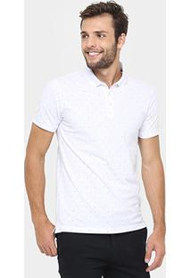 Camisa Polo Ellus 2Nd Floor Piquet Mini Print - Masculino