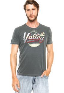 Camiseta Ellus Valley Cinza