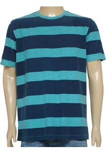 Camiseta Masc Individual 304.22222.155 Verde/Marinho