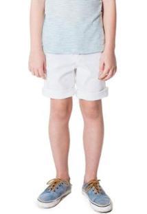 Bermuda Infantil Mini Pf Casual Iron Ver 17 Reserva Masculina - Masculino