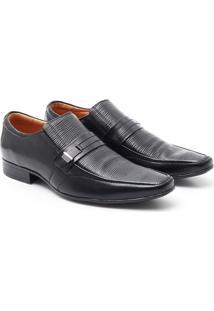 Sapato Social Pelica - Masculino-Preto