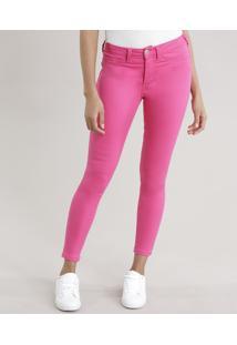 Calça Jegging Super Stretch Pink