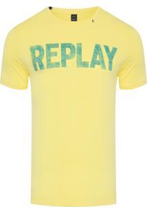 Camiseta Masculina Copa - Amarelo