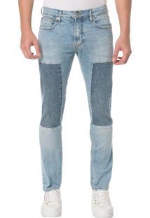 Calça Jeans Five Pocktes Slim Ckj 026 Slim - Azul Claro - 38