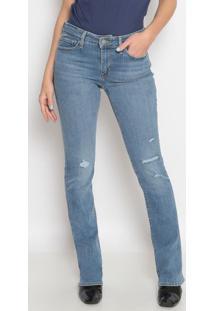 Jeans 715™ Bootcut Destroyed- Azul Clarolevis