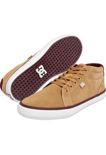 Tênis Dc Shoes Council Mid Tan Bege