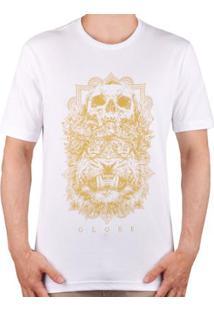 Camiseta Globe Skull Tiger Masculino - Masculino