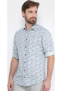 Camisa Forum Mil Folhas Masculina - Masculino-Branco