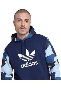 Moletom Adidas Camouflage Oth Hoody - Masculino-Marinho
