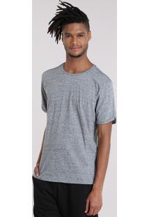 Camiseta Básica Botonê Cinza Mescla
