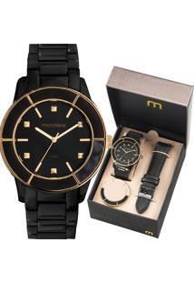 Kit Relógio Mondaine Feminino 99265Lpmvpe2
