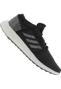 Tênis Adidas Pureboost Go - Masculino - Preto/Cinza