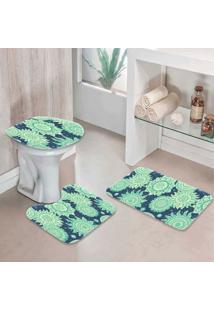 Jogo Tapetes Para Banheiro Olistic - Único