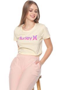 Camiseta Hurley One & Only Amarela